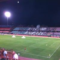 "Photo taken at Stadio Cibali ""Angelo Massimino"" by Mariolina M. on 9/2/2012"
