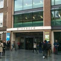 Photo taken at Birkbeck, University of London by Chris L. on 4/25/2012