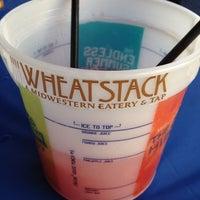 Photo taken at Wheatstack by Rachel S. on 8/5/2012