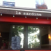 Photo taken at La Sardine by martin p. on 8/19/2012