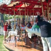 Photo taken at Kimberly's Carousel by Benjamin on 9/3/2011