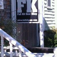 Photo taken at FK Full Kit Gear Shop by John W. on 10/28/2011