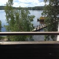 Photo taken at Kumpeli Spa by Pihla on 7/4/2012