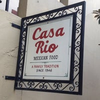 Photo taken at Casa Rio by Tara on 6/27/2012