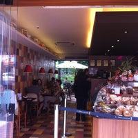 Photo taken at La Boulangerie by Luiza R. on 12/30/2011