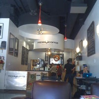 Photo taken at Press Coffee Roasters by Randylux on 10/13/2011