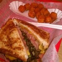 Photo taken at Burgers, Shakes & Fries by Luke M. on 8/21/2011