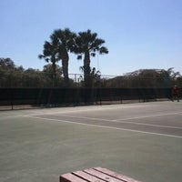 Photo taken at McFarlin Tennis Center by Marissa M. on 10/15/2011