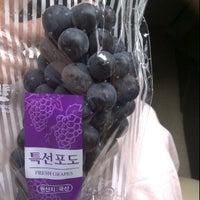 Photo taken at Mu Gung Hwa (무궁화) Korean Supermarket by Staffin P. on 11/6/2011