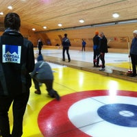 Photo taken at Oppdal Curlingklubb by Ragnvald L. on 2/1/2012