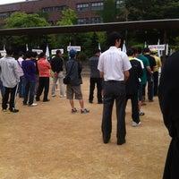 Photo taken at 신가초등학교 by Donald Trump on 5/29/2012