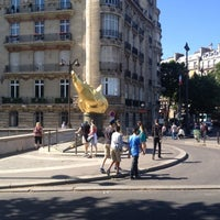 7/17/2012 tarihinde Philippe V.ziyaretçi tarafından Flamme de la Liberté'de çekilen fotoğraf