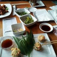 Photo taken at Kabuki Japanese Restaurant by Mike H. on 2/6/2012