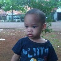 Photo taken at Lapangan Basket RW.01 by Ari Muharam M. on 11/24/2011