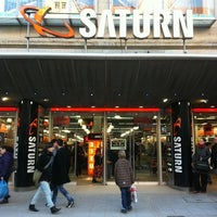 Photo taken at Saturn by ACHTUNG FUSSBALL™ on 1/5/2011