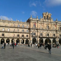 Photo taken at Plaza Mayor by Chimo B. on 11/23/2011