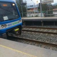 Photo taken at Metro Valparaíso - Estación Sargento Aldea by Gustavo A. on 6/30/2012