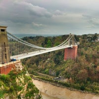 Photo taken at Clifton Suspension Bridge by Dmytro G. on 4/7/2012