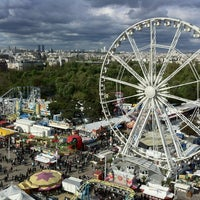 Photo taken at Foire du Trône by Cedric B. on 4/29/2012