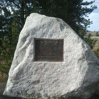 Photo taken at Centennial Trail - Stateline by Patrick A. on 9/3/2012