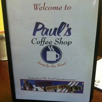 Photo taken at Paul's Coffee Shop by Amber D. on 4/2/2012