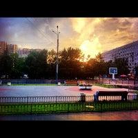 Снимок сделан в Площадь Мужества пользователем Stanislav G. 8/7/2012
