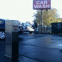 Photo taken at Bellmore Car Wash by Robert S. on 11/9/2011
