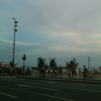 Photo taken at Avenida Vieira Souto by hylza l. on 3/3/2012