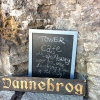 Photo taken at Dannebrog Tower Café by Veljo H. on 4/19/2011