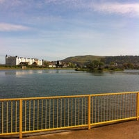 Photo taken at Mooragh Park by Lewis K. on 4/25/2011
