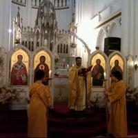 Photo taken at Iglesia San Nicolas by LeY on 6/19/2011