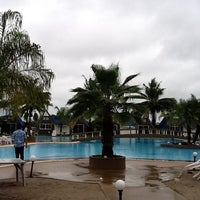 Photo taken at Castle Howchow Beach Resort Hotel Khon Kaen by Chatchawan C. on 7/31/2011