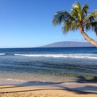 Photo taken at Kā'anapali Beach by Angela W. on 12/29/2011