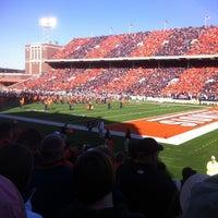 Photo taken at Memorial Stadium by Dennis P. on 10/15/2011