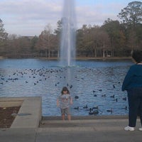 Photo taken at Hermann Fountain by David S. on 1/7/2012