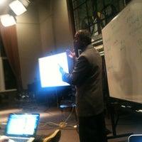 Photo taken at ColumbiaJourn Talks by Karen on 4/13/2011