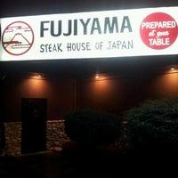Photo taken at Fujiyama Steak House of Japan by Rob R. on 12/21/2011