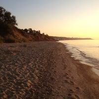 Photo taken at Пляж 15-16 Черноморки by Дарья С. on 8/18/2012