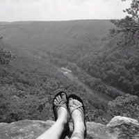 Photo taken at New River Gorge by Katelynn W. on 1/18/2012