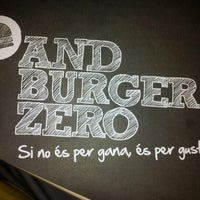 Photo taken at AndBurgerZero by David B. on 7/14/2012