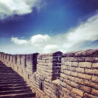 Photo taken at Great Wall at Mutianyu by Tatti O. on 7/23/2012