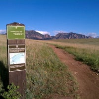 Photo taken at Cowdry Draw Trailhead by BoulderRunner on 2/4/2012