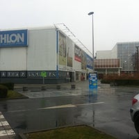 Photo taken at Decathlon by Mathieu R. on 1/18/2011