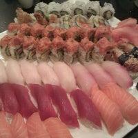 Photo taken at Sushi Para M by Claudia Z. on 10/6/2011