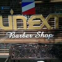 Photo taken at U Next Barber Shop by Aja on 9/29/2011