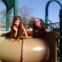 Photo taken at Highland Playground by Amanda M. on 11/1/2011