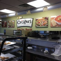Photo taken at Crispers Fresh Salads, Soups and Sandwiches by Jamie B. on 7/15/2012