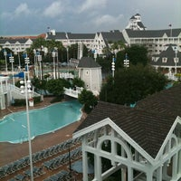 Photo taken at Disney's Yacht Club Resort by Dave A. on 8/23/2011