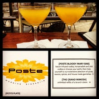 Photo taken at Poste Moderne Brasserie by James H. on 8/19/2012