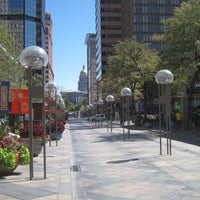 Photo taken at 16th Street Mall by Anthony on 1/8/2012